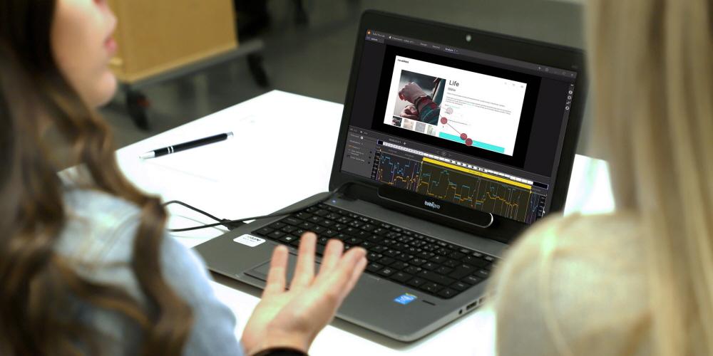 Tobii Pro Nano Pro Lab software classroom