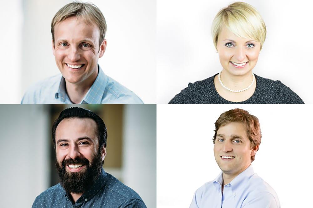 Tobii Pro Executives headshot collage
