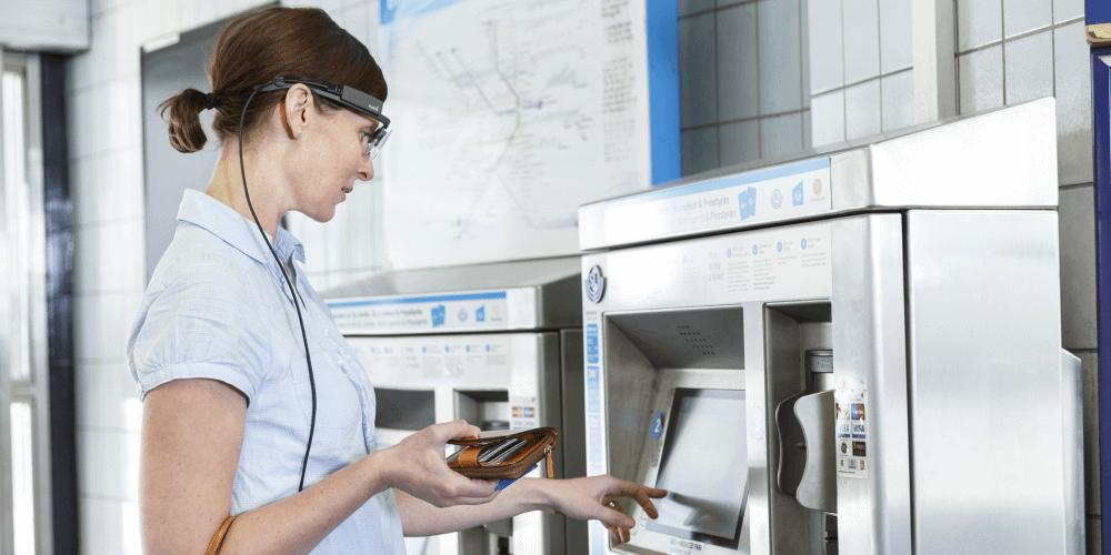 Tobii Pro Glasses 2 Ticket machine