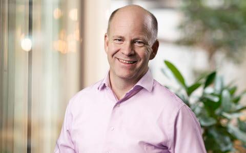 Henrik Eskilsson, President and CEO of Tobii
