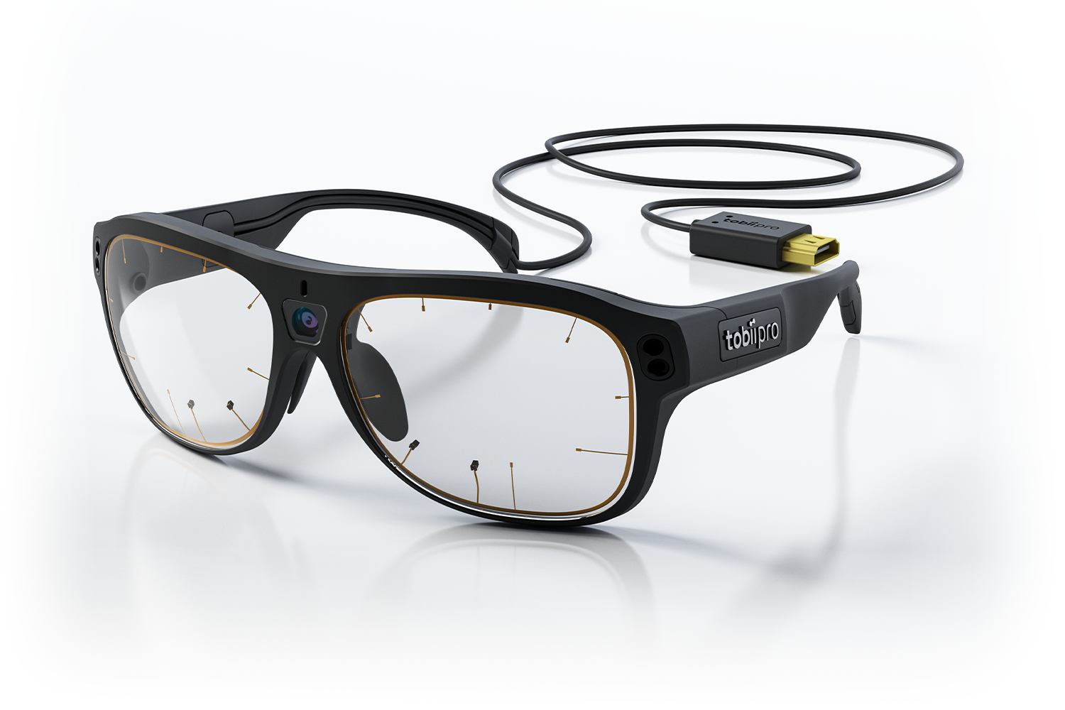 Tobii Pro Glasses 3 side view