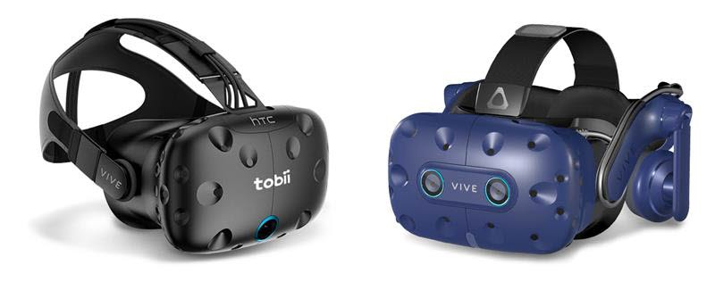 Tobii Pro VR Integration and HTC VIVE Pro Eye headsets