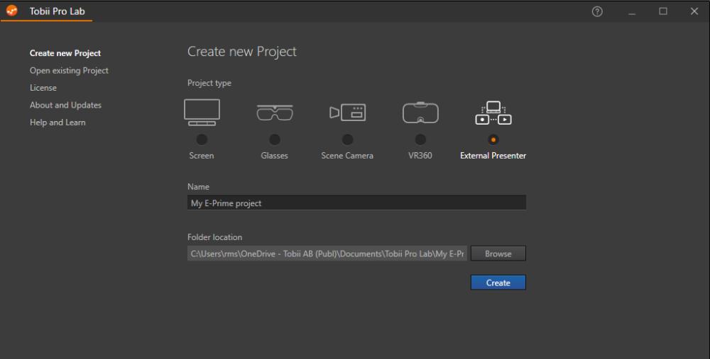 Pro Lab External Presenter project