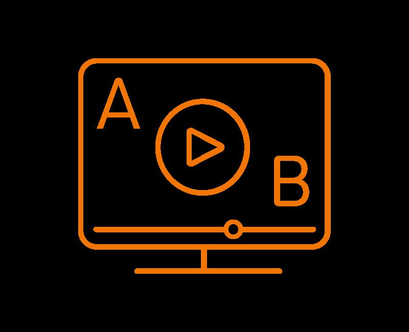 Tobii Pro Sticky video testing icons