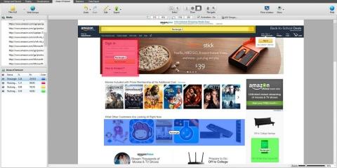 A Tobii Studio software screenshot.