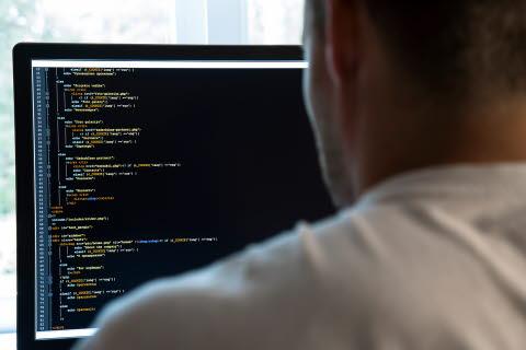 Person computer programming