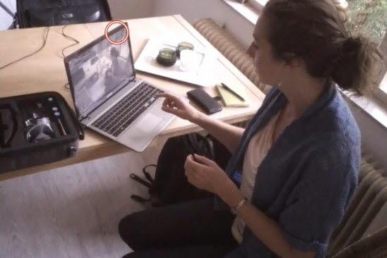 Tourette case study using eye tracking