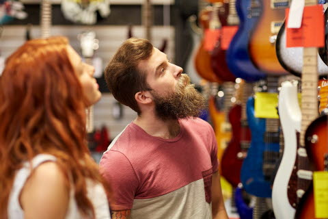 Shopping for guitars - Decision making