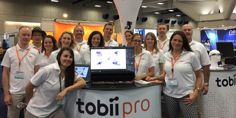 Tobii Pro team at SfN 2016 in San Diego